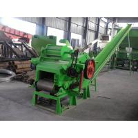 Quality Wood chipper machine and match two conveyor for wood in and chips out for sale
