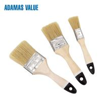 China 45-58mm Length Wide Bristle Brush , Soft Hair Painting Brush For Oily Coatings on sale