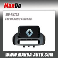 Quality car audio for Renault Fluence in-dash gps auto dvd satellite radio usb sd slot for sale