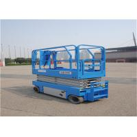 Quality 4 WD Rough Terrain Scissor Lift With Automatic Leveling Hydraulic Outriggers for sale