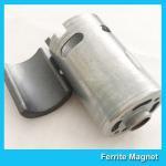 Quality Permanent Ferrite Arc Magnet SrO / Bao / Fe2O3 Material For Motor Generator for sale