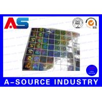 Buy cheap Anti Fake Hologram Security Stickers , Printing 3d Hologram Security Labels Tamper Proof from Wholesalers