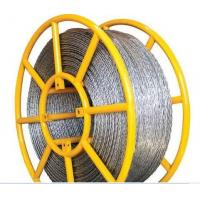 Quality Used In Pulling Conductor Galvanized Anti-twisting Braided Wire Rope for sale