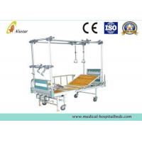 China Steel Bed Frame Double Column Hight Adjustable Orthopedic Traction Bed With Turning Table (ALS-TB03) on sale