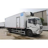 Quality 20ft Dongfeng 4x2 Refrigerated Box Trailer / Refrigerated Cargo Van Diesel Fuel Type for sale