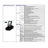 Buy TF500 Accurate Fish Detection Wireless Sensor Portable Waterproof Fish Finder at wholesale prices