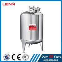 Quality Stainless steel SS304, SS316 Storage tank  for shampoo, perfume, liquid soap, detergent, oil, shower gel, lotion cream for sale