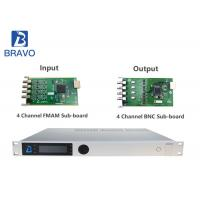 HD SD Multi Channel Satellite Receiver Decoder High Performance Professional
