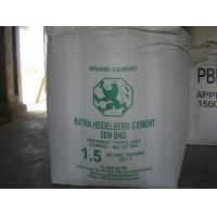 Buy cheap Tubular 1.5 Ton Bulk Bags for cement from wholesalers