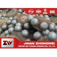 Quality Wear resistant high chromium Cast Iron Balls for Cement building materials for sale