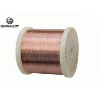 Quality Thermal Overload Relay Wire CuNi8 Alloy12 CN012 Low-voltage Low Temperature Heating for sale