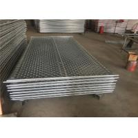 Quality PVC Coated Wire Chain Link Fence Panels 6 X10 63mm X 63mm X 2.4mm for sale