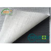 Polyester / Viscose Fusible Interlining ( With Napping ) B1600 For Men ' s Suit