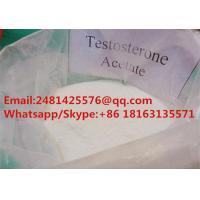 Buy cheap Test Acetate Raw Anabolic Steroids Testosterone Acetate CAS 1045-69-8 For Muscle from wholesalers