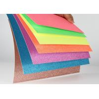 Quality Colourful Masking Self Adhesive Glitter Paper Christmas / Wedding Decoration for sale