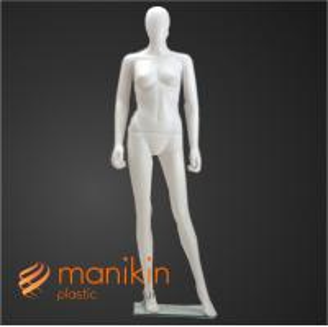 Fashion standing plastic mannequin
