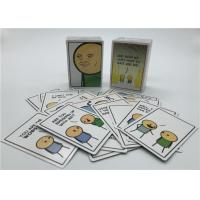 Quality Personalized Playing Cards , Joking Hazard Blank Cards Easy Operation for sale