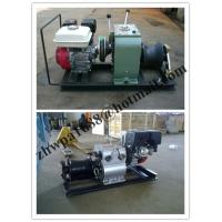 Quality cable puller,Cable Drum Winch,Cable pulling winch, Cable bollard winch for sale