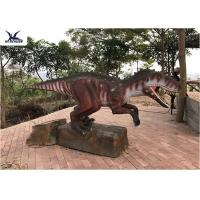 Quality Artificial Custom Dinosaur Garden Ornaments For Jurassic World 60HZ for sale