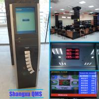 Quality Hospital customer queue token number Information Display and Ticket Calling system,customer flow queue management system for sale