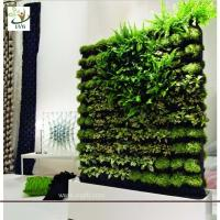 Quality UVG GRW02 Vertical Green Wall wholesale fake plants meeting room landscaping for sale