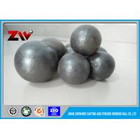 Quality HRC 60-68 Sag Mill Grinding Balls for mining 45# 60Mn B2 and Cr 1 - 20 for sale