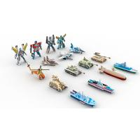 Quality Collectible Toys | Gifts & Premiums Variety 3D Puzzle 16 Figurines | Ship,Robot,Plane,Tank for sale