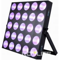 Buy cheap Audience Pro Lighting LED Matrix Blinder Light 5 x 5 Mixing Panel Fixture from wholesalers