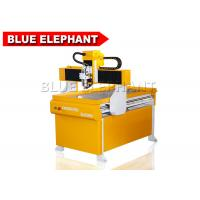 Quality Portable 4 Axis 6090 Mini Cnc Pcb Router / Math3 Cnc Controller Router With Rotary Device for sale