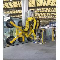 Buy 90°C Rotation Double Glazing Machinery Yellow Colour Glass Vacuum Lifter at wholesale prices