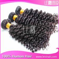 China Hot sales grade 5a virgin brazilian deep curly hair on sale