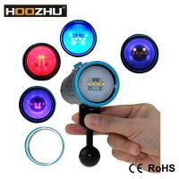 China Hoozhu V13 Five Color Lights Diving Video Light Max 2600 Lumens Underwater 100m Scuba Diving Lamp For Diving on sale
