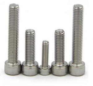 Quality ASME B18.6.3 Carbon Steel Socket Cap Screw DIN912 Allen Key Bolt DIN912 for sale