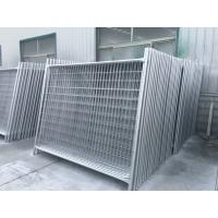 Buy cheap 14 Microns Building Site Security Fencing Panels Temporary Fences For Renters from wholesalers