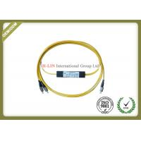 1 To 2 Way 4 Way 8 Way Fiber Optical Splitter Dual Window With FC UPC Connector