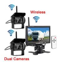 Quality Wireless Vehicle Reversing Systems Vehicle Backup Camera Kit 7 Inch 420 TVL for sale