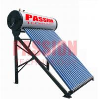 China 250L Compact Pressurized Evacuated Tube Integrated Solar Water Heater for Home on sale