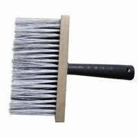 Quality Paint Wall Brush with Synthetic Bristle, Wooden Holder and Plastic Handle, Various Sizes Available  for sale