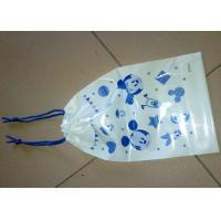 Printed Extra Large Plastic Gift Bags With Drawstring Biodegradable