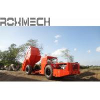 Buy cheap Update Design 12 tons Low Profile Dump Truck RT-12 for underground mining or project with wheels from Wholesalers