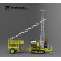 Buy cheap 23.5kw Engine Drill Rig Machine Self - Propelled With Full Hydraulic Core from wholesalers