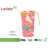 Quality Heat Resistance 100% Food Grade Safe Bamboo Water Jug Disposable Beverage Jug Contemporary Style with LOGO and Prints for sale