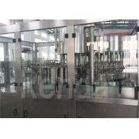 China Electric Automatic Water Bottle Filling Machine for Water Bottle Plant CE / ISO on sale