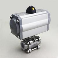 Quality Double Acting / Single Acting Pneumatic Actuator DRG-DA Series For Ball Valve for sale
