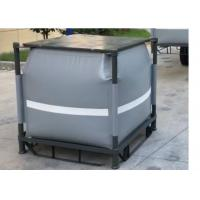 Quality Grey Recycled PVC Liquid Jumbo Bag Stainless Steel Pallet Available 1 Ton / 1000L for sale
