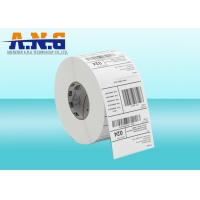 Quality Self Adhesive NFC Sticker Tags / Printed Luggage Tags With Synthetic Thermal Paper for sale