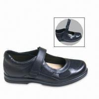 Quality Wide Opening Comfort Shoes with Leather/Mesh Upper, Bilateral Hoop-and-loop Closure, Easy On/Off for sale