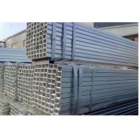 Quality High Frequency Longitudinal Hollow Steel Pipe , Rectangular Steel Tubing for sale