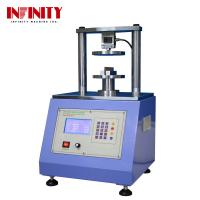 Quality Touch Screen Compressive Strength Testing Machine Ring Crush Tester Edge Crush Tester for sale