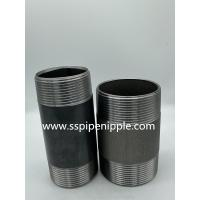 """Quality Male Female Carbon Steel Pipe Fitting  1""""X150MM Threaded Pipe Nipples for sale"""
